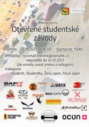 Otevřené studentské závody 2021