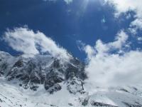 Mont Blanc aneb Jak jsem lezla po čtyřech na chatu Grands Mullets