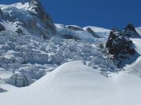 Mont Blanc aneb Jak jsem lezla po čtyřech na chatu Grands Mullets II.