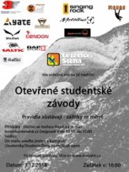 Otevřené studentské závody 2018