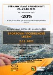 Přednáška o vícedélkovém lezení a narozeniny StenyHK