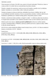 Tréninkové lezení