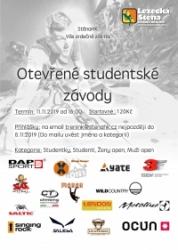 Otevřené studentské závody 2019