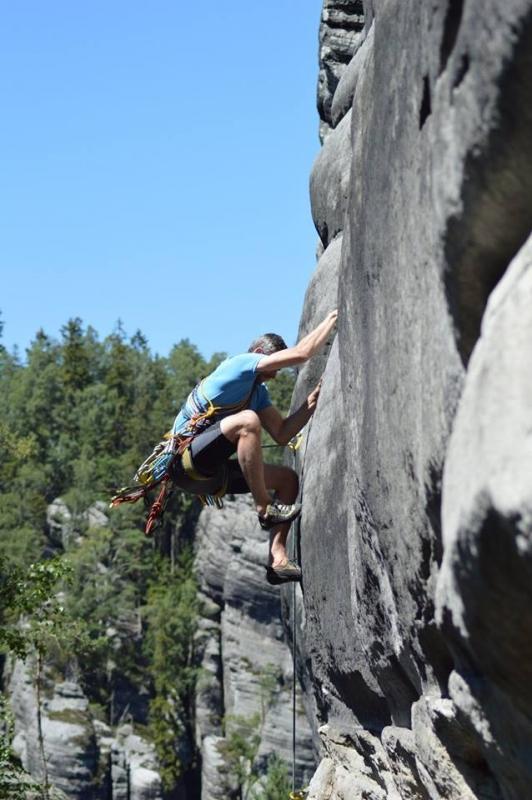 Intenzivní horolezecký trénink s Leošem!