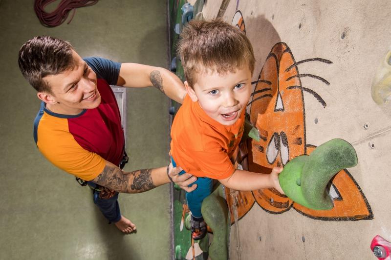 Dětské příměstské lezecké tábory 2018